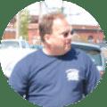 Gregg Danilchuk as parts manager for Danilchuk Auto Body in Boston